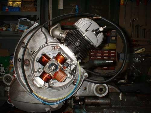 Schema Elettrico Vespa Pk 50 Xl : Vespa pk rifaccio il motore